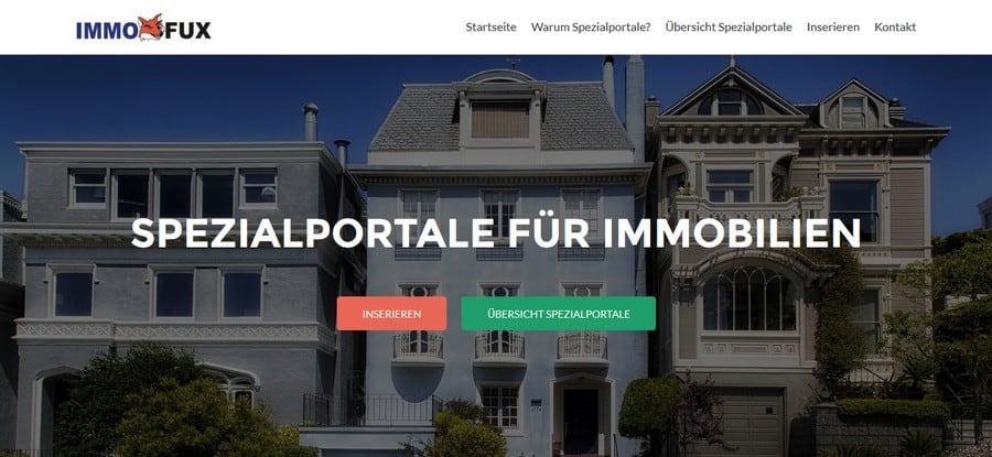 immobilien spezialportale immofux com immobilien portal. Black Bedroom Furniture Sets. Home Design Ideas